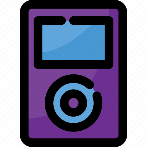 electronic, gadget, mp3 player, music, player, technology icon