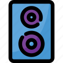loudspeaker, music, sound, speaker, technology icon
