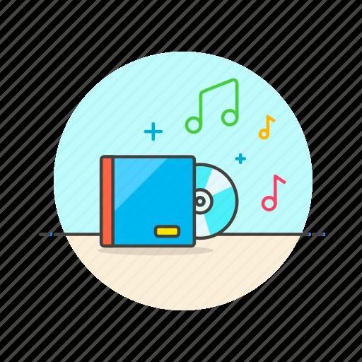 album, audio, cd, media, music, play, sound icon