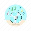 audio, cd, instrument, music, play, sound icon