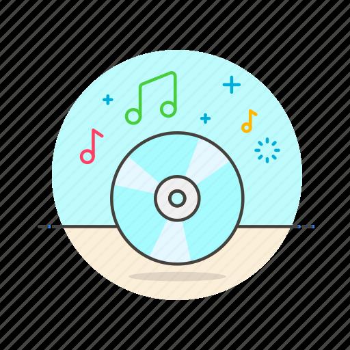 audio, cd, instrument, music, play, sound icon