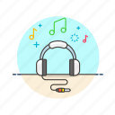 audio, headphones, instrument, music, play, sound, speaker icon