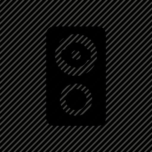 audio, music, speaker, subwoofer icon