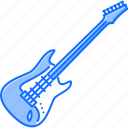 band, electric, guitar, instrument, music, song icon
