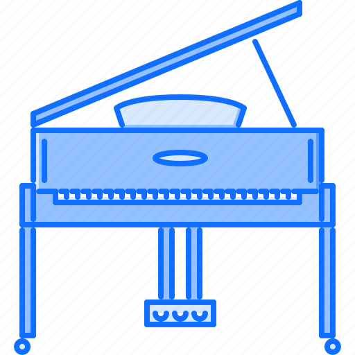 band, instrument, music, piano, song icon