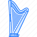 band, harp, instrument, music, song