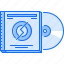 band, compact, disk, instrument, music, song icon