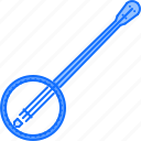 band, banjo, instrument, music, song icon
