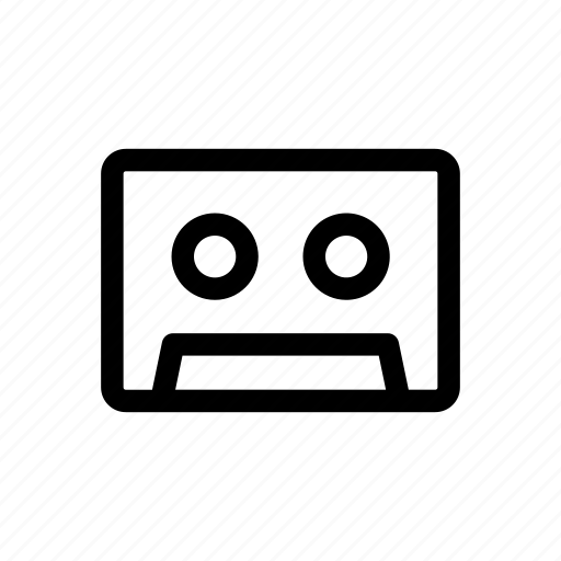 audio, cassette, music, song, sound, tape icon