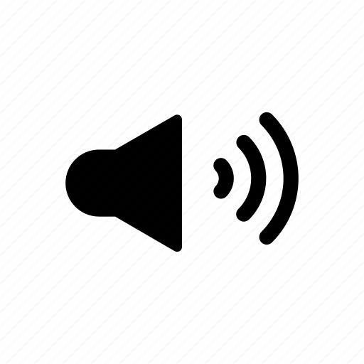audio, music, song, sound, speaker icon