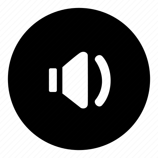 audio, low, quiet, speaker, turn down, volume icon