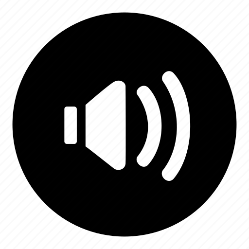audio, average, medium, mid, speaker, volume icon