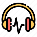 headphone, headset, earphone, audio