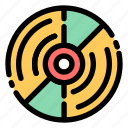 disc, player, dj, cd