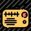 radio, music, player, speaker