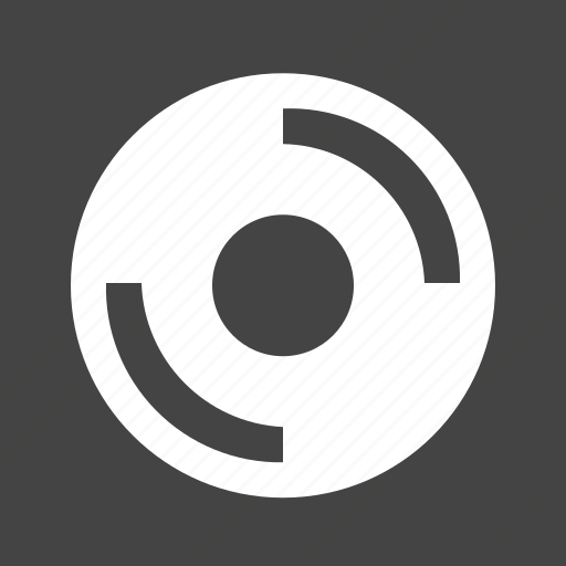 compact, disc, media, music, player icon