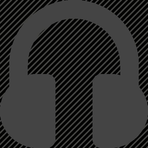 headphone, media, music, player icon