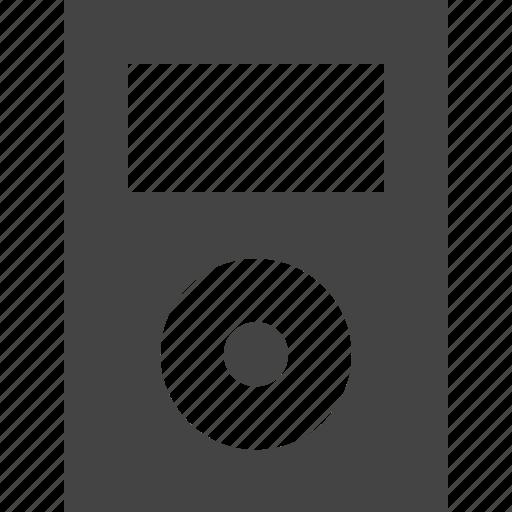 ipod, media, music, player icon