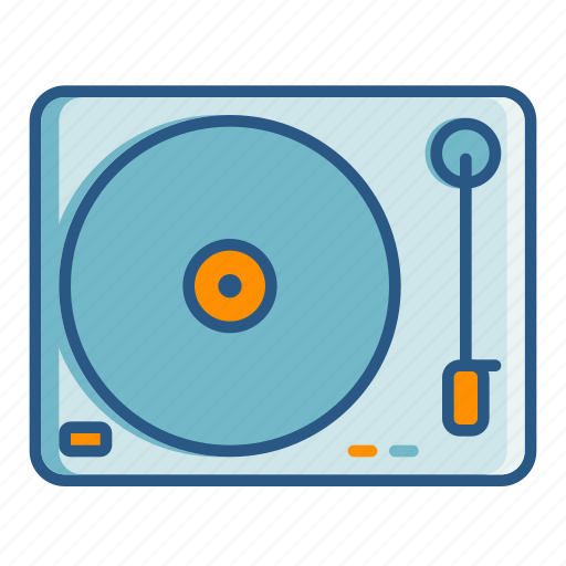 'Music and media player ui filled outline - s94' by Studio 94