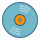 dj, music, record, spin, vinyl icon