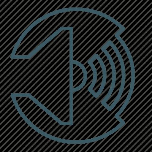 audio, level, loud, sound, speaker, volume icon