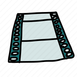 film, movie, multimedia, record icon
