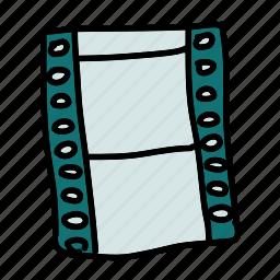 film, movie, multimedia, play, record, watch icon