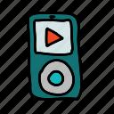 movie, mp3, mp4, multimedia, music, player, sound