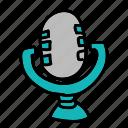 microphone, movie, multimedia, music, record, sign, speech