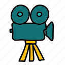 camera, movie, multimedia, video icon