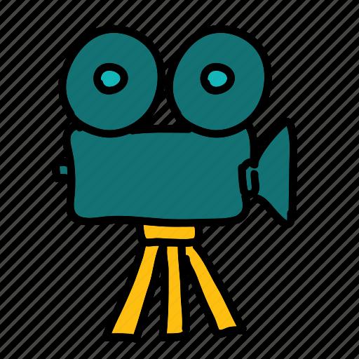 camera, movie, multimedia, video icon