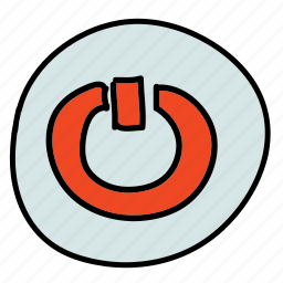 movies, multimedia, music, off, on, power, turn icon