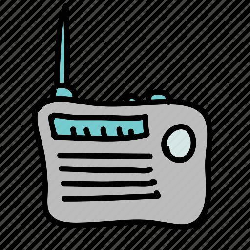 multimedia, music, news, radio, sound icon