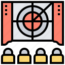 cinema, entertainment, movie, scene, video icon