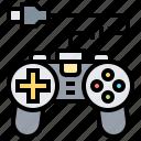 console, entertainment, game, joystick, multimedia icon