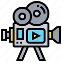 cinema, film, movie, photography, video icon