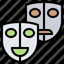 cinema, film, movie, theater, video icon