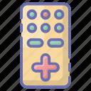 remote, remote control, tv remote, wireless controller, wireless remote icon