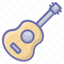acoustic guitar, electric guitar, guitar, guitar sound, musical instrument icon