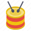 drum, drum beating, drum kit, drum set, drumsticks, musical instrument, snare drum icon