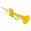 brass, cornet, marching band, music instrument, trumpet