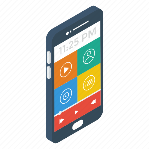Media player, mobile app, mobile player, multimedia, music application,  video player, video streaming icon - Download on Iconfinder