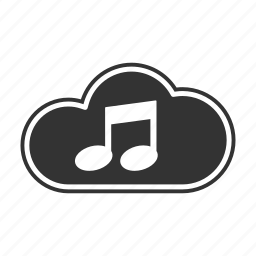 cloud, document, note, storage icon