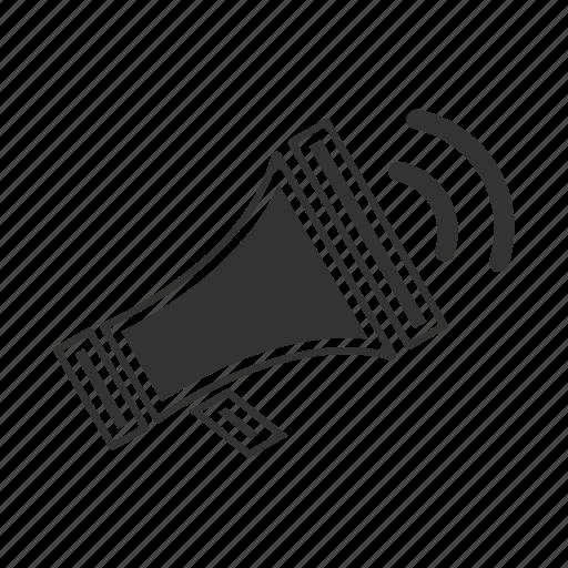 loudspeaker, music, sound, speaker, volume icon