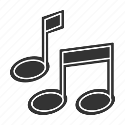 media, multimedia, music, note icon