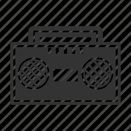 communication, message, music, radio icon