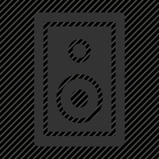 box, media, sound, speaker, volume icon