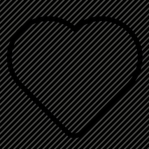 bookmark, favorite, heart, like, love, romantic, valentine icon