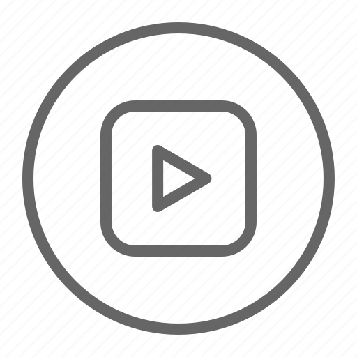 music, mv, play, player, video icon