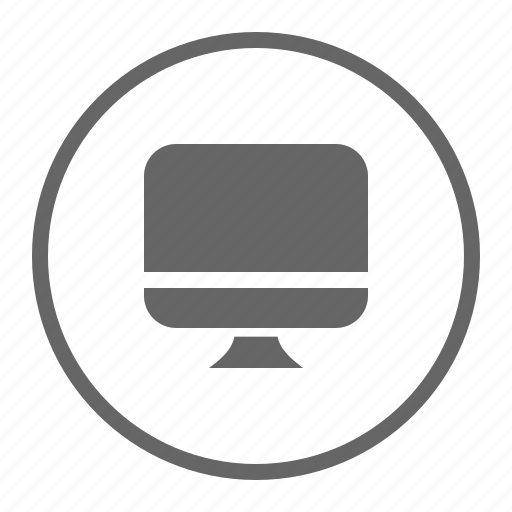 device, monitor, pc, technology, work, working icon